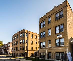 Building, 7701 S. Stewart