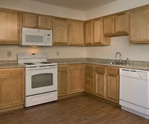 Kitchen, Parkwood Village Apartments