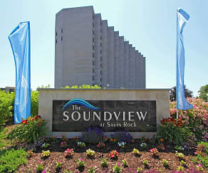 Community Signage, The Soundview at Savin Rock