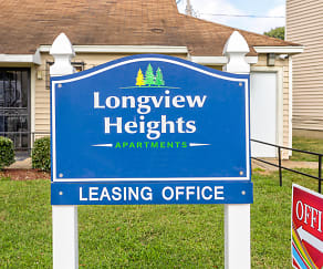 Community Signage, Longview Heights Apartments
