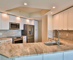 Kitchen, 231 Riverside Drive Unit 1006-1