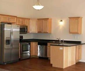 Kitchen, Montgomery Townhomes