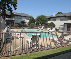 Pool, Fairfield Apartments