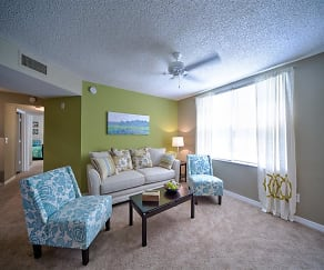 Spacious Living Area at Courtney Manor, Courtney Manor