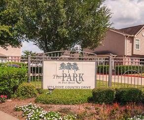 Community Signage, Park At Fort Bend