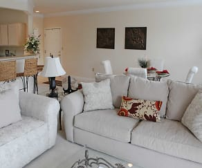 Living Room, Rabbit Run Apartments