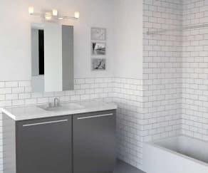 Bathroom, Richardson Lofts (ext.145)