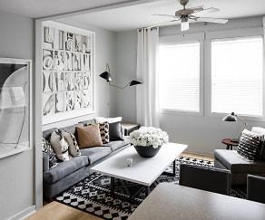 Living Room, Hawks Ridge - Per Bed Lease