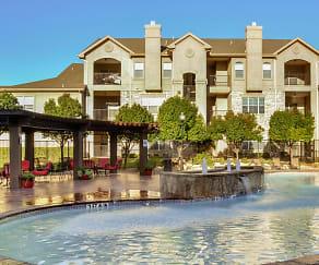 Pool, The Dakota Arms Apartments