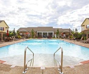Pool, The Charleston Apartments