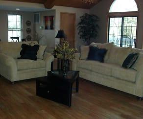 Living Room, Eastlake Woods Apartments