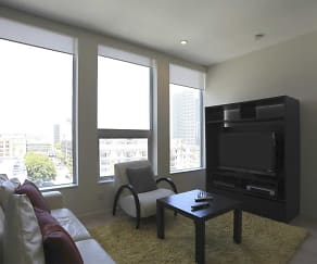 Living Room, Ten Ten Wilshire All Inclusive Living