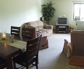 Living Area, Maple Ridge Apartments
