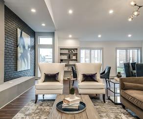 Living Room, Radius at Ten Mile