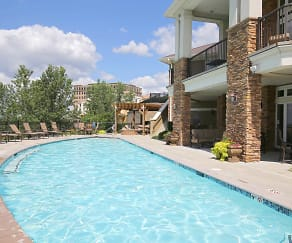 Pool, The Briarcliff City Apartments