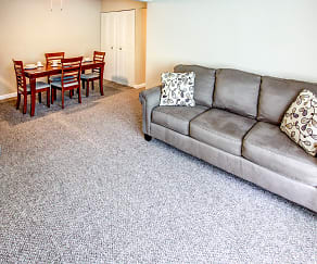 Living Room, Brandywine Apartments