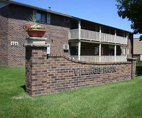 Community Signage, Village Park Apartments