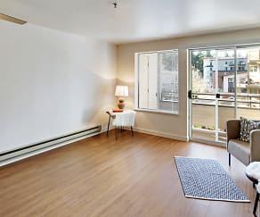 Living Room, Townside Flats