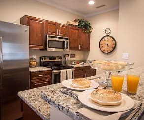 Kitchen, The Cottages at Town Center