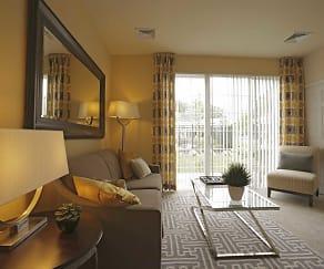 Living Room, The Prescott at Concord