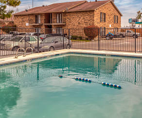 Pool, Greenville Court Apartments