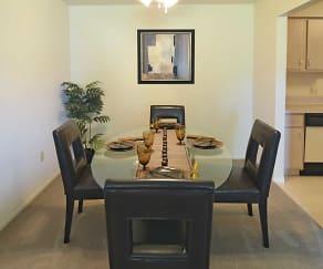 Dining Room, Tamarac Apartments