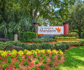 Community Signage, The Waterford at Mandarin Apartments