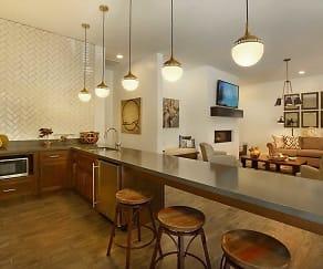 Kitchen, Liberty Center Apartments