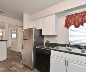 Kitchen, Bridgewater Apartments