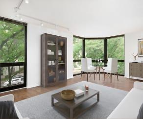 Living Room, 1000 North LaSalle