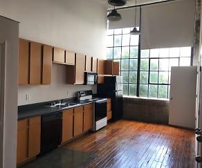 Kitchen, LL Sams Historical Lofts