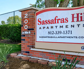 Community Signage, Sassafras Hill Apartments