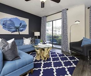 Living Room, The Parkland at Orange Park