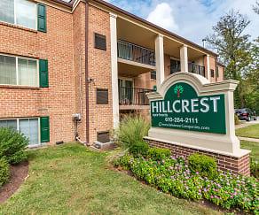Community Signage, Hillcrest Apartments