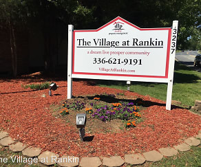 Community Signage, The Village at Rankin