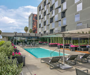 Pool, The Apartment Residences at AKA