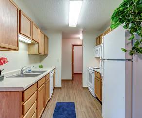 Kitchen, Prairie Point Apartments