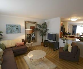 Living Room, Gravois Ridge Townhomes