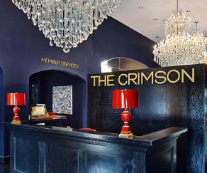 Community Signage, The Crimson - Per Bed Lease