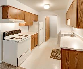 Kitchen, University Place Apartments
