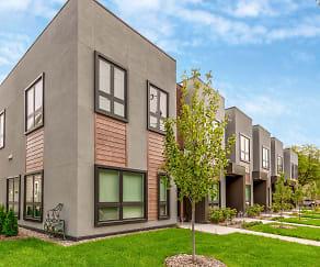 Building, Lowry Row Homes