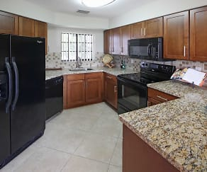 Kitchen, The Enclave At Delray Beach