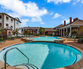 Beautiful Community with Two Swimming Pools, Plantation at the Woodlands