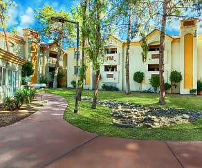 Community Signage, Twin Palms Apartments