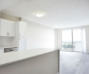 Living Room and Kitchen, Aliro