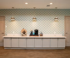 Coffee Bar in Community Building, Gateway Apartments