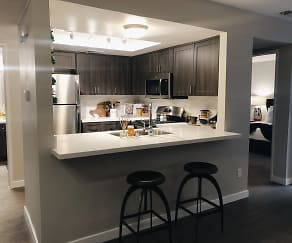 Espresso home finishes, Hensley at Corona Pointe