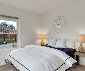 Bedroom, Westgate Apartments