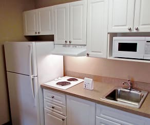 Kitchen, Furnished Studio - Washington, D.C. - Fairfax