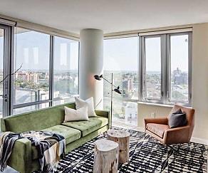 One-Bedroom Living, Avalon Brooklyn Bay